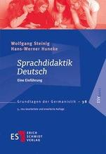 Sprachdidaktik Deutsch | Steinig, Wolfgang; Huneke, Hans-Werner