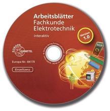 Arbeitsblätter Fachkunde Elektrotechnik - interaktiv | Manderla, Jürgen