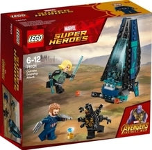 LEGO® Marvel Super Heroes 76101 Outrider Dropship-Angriff, 124 Teile