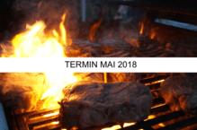 """Anmeldung/Gutschein für das Grillseminar """"Unser Klassiker - Surf & Turf' - 25.05.2018"""