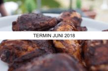 """Anmeldung/Gutschein für das Grillseminar """"Frühlingserwachen"""" (Freitag, 08.06.18)"""