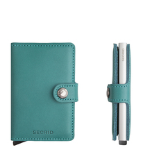 Secrid Credit Card Protector Mini Wallet emerald Kreditkartenbox M-emerald