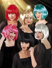 Perücke Cabaret Pagenkopf Bop Charleston Bobperücke Pagenschnitt alle Farben!!!