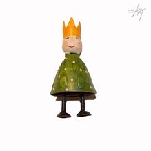 Figur König grün