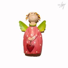 Figur engel rot