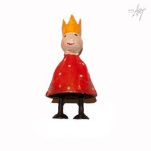 Figur König rot