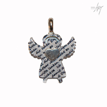 Silberwerk Schutzengel 'Poesie'