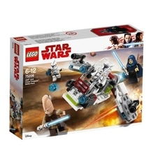 LEGO(R) Star Wars 75206 Jedi und Clone Troopers Battle Pack, 102 Teile