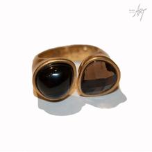 Sence Copenhagen Ring Black Agathe