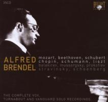 Alfred Brendel: The complete Vox, Turnabout nad Vanguard solo recordings | Brendel, Alfred