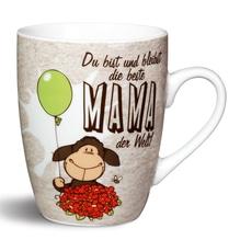 NICI Porzellantasse 'Du bist und bleibst die beste MAMA der Welt!'