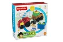 Mattel Fisher Price Little People Traktor & Anhänger