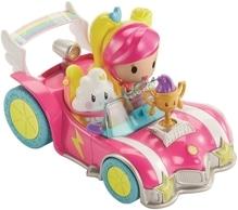 Mattel Barbie Die Videospiel-Heldin Pixel-Mobil Set mit Puppe