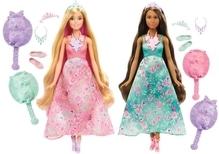 Mattel Barbie Dreamtopia Farbfrisuren Puppe Sortiert