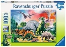 Ravensburger 109579  Puzzle Unter Dinosauriern 100 Teile