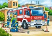 Ravensburger 75744  Puzzle Polizei und Feuerwehr 2 x 12 Teile