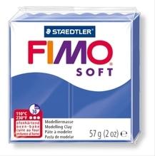FIMO brilliantblau soft normal 57g
