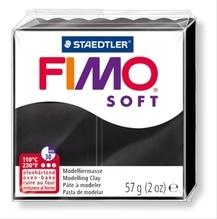 FIMO schwarz soft normal 57g