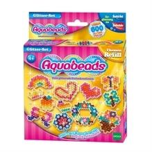 Aquabeads Glitzer - Set 600 Perlen