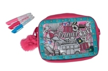 Color Me Mine Glitter Couture Travel Bag