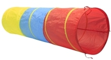 Outdoor active Spieltunnel in 3 Farben, Ø 47 x Länge 180 cm