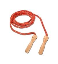 Spielmaus Outdoor Springseil bunt, Holzgriff, Länge 250 cm, sortiert