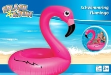 Splash & Fun Schwimmring Flamingo, 106x106x97cm
