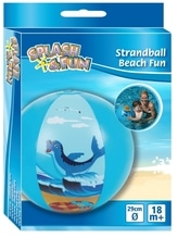 Splash & Fun Wasserball Beach Fun, 29 cm