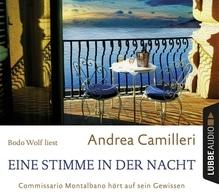 Eine Stimme in der Nacht, 4 Audio-CDs   Camilleri, Andrea