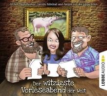 Der witzigste Vorleseabend der Welt, 2 Audio-CDs   Lippe, Jürgen von der