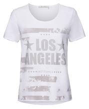 Shirt Los Angeles, Rundhals 1/2