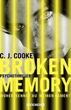 Broken Memory   Cooke, C. J.