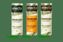 CBD Liquid - Sorte Ambrosia Peach, 200 mg CBD