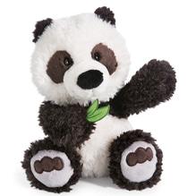 Nici Kuscheltier Wild Friends 'Panda Yaa Boo' mit Bambusblatt in der Pfote 25cm