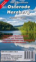 KKV Rad- und Wanderkarte Osterode - Herzberg
