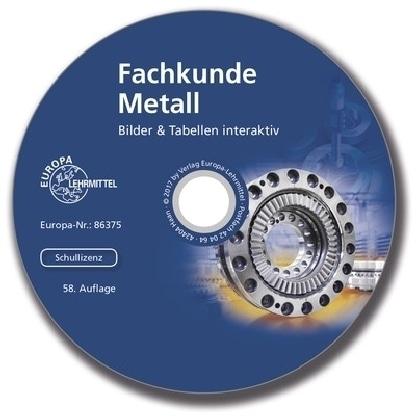Fachkunde Metall - Bilder & Tabellen interaktiv, CD-ROM (Schullizenz)