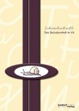 Schreibschrift - Das Selbstlernheft in VA