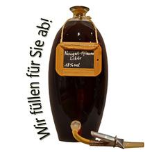 Laux 'Nougat Pflaume Likör' 18% vol, in verschiedenen Flaschenformen und Mengen!