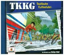 TKKG - Teuflische Kaffeefahrt, 1 Audio-CD   Wolf, Stefan