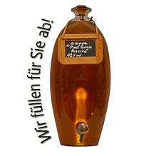 Laux 'Grappa di Pinot Grigio Riserva' 42% vol, in verschiedenen Flaschenformen und Mengen!
