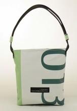 Umhängetasche/Shopper aus recycelten Materialien