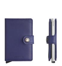 Secrid Credit Card Protector Mini Wallet Indigo Kreditkartenbox M-Indigo