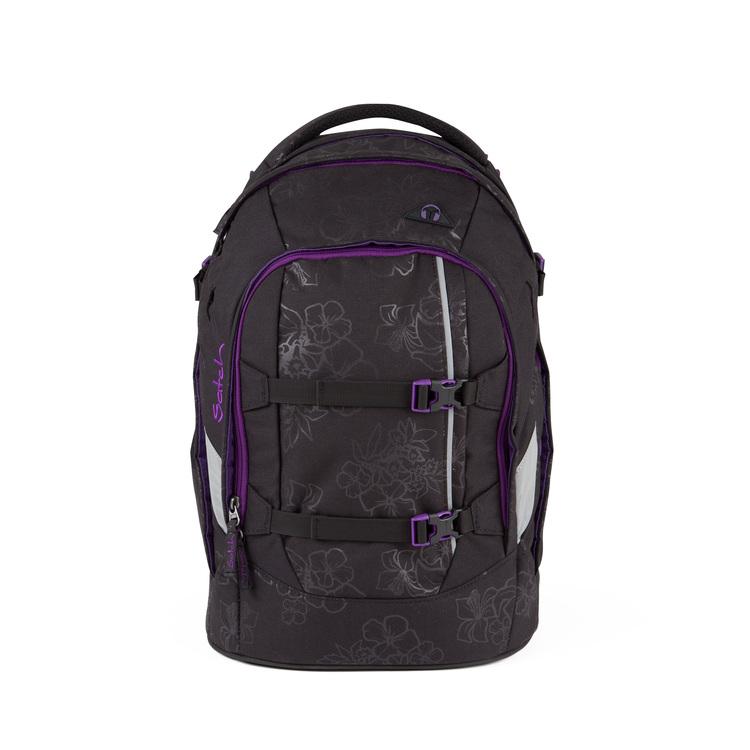Schulrucksack satch pack Purple Hibiscus