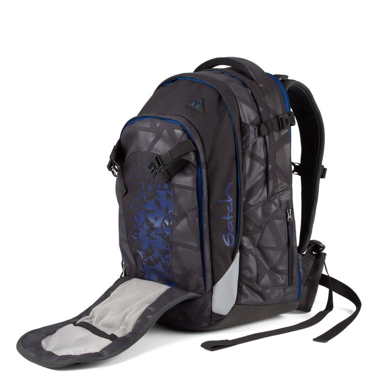 Schulrucksack satch match Black Triad