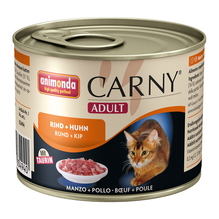 animonda Carny® Adult Rind + Huhn