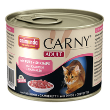 animonda Carny® Adult mit Pute + Shrimps
