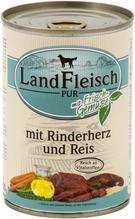 Landfleisch Pur Rinderherz & Reis