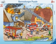 Ravensburger 60924  Rahmenpuzzle Wasser marsch! 14 Teile