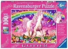 Ravensburger 139279  Puzzle Pferdetraum 100 Teile Glitter
