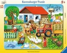 Ravensburger 60207  Rahmenpuzzle Was gehört wohin? 15 Teile